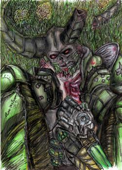 Glory kill Doom eternal Marauder