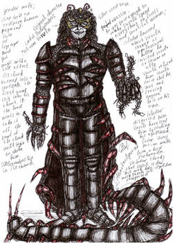 original character Vavula ( Lord of Scolopendras )