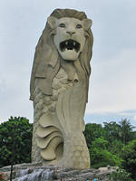 The Merlion by featheredfinds