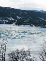 Winter Lake by featheredfinds