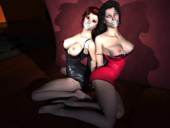 Nerfworld - Chrys and Tabby Interrogated by SinisterMarauder