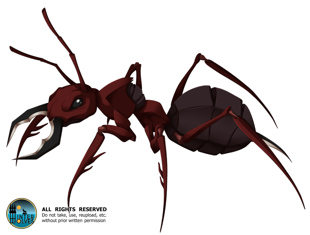 UL - Giant Ant by ehcs