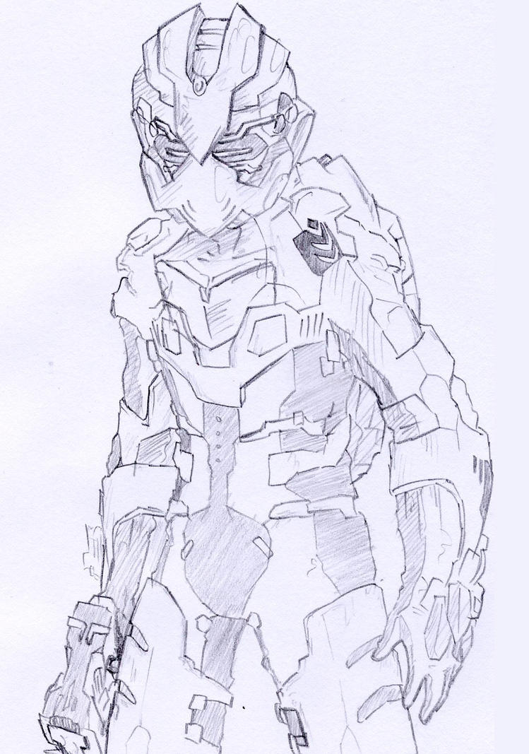 Dead Space 2 -Admiral suit- by Skutchi on DeviantArt