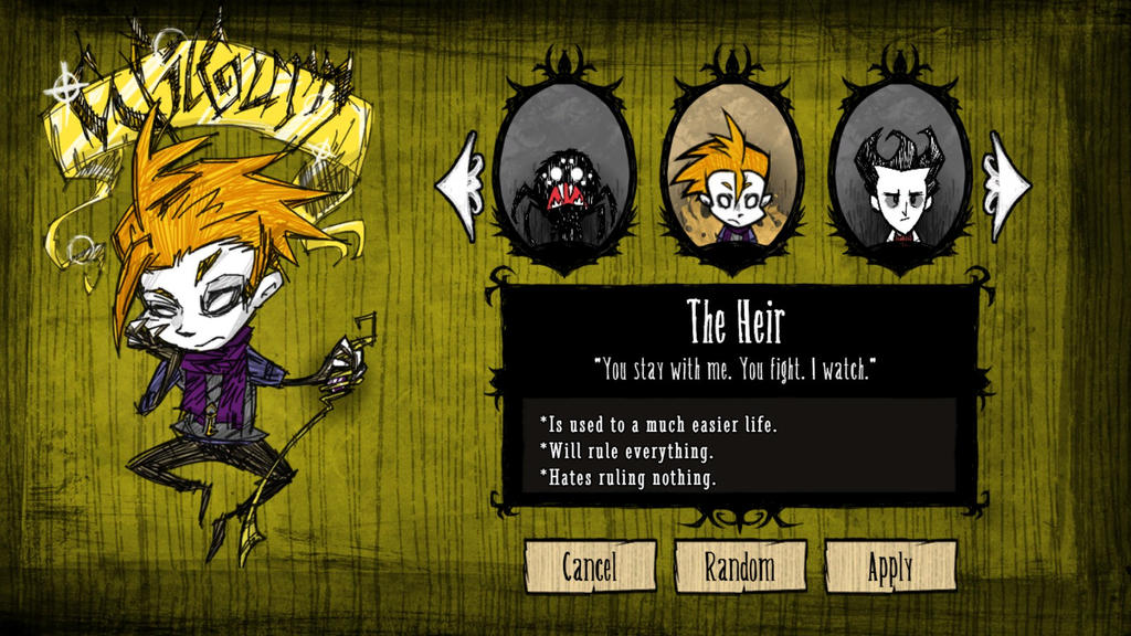 don t starve map with Wilburn Mod For Don T Starve Full Mod Download 515302357 on 21 Day Fix Test Group Review as well Hound Wave Survival Guide in addition Concept Art furthermore Fanart whats your favorite fanart of dont starve moreover Slender Man.