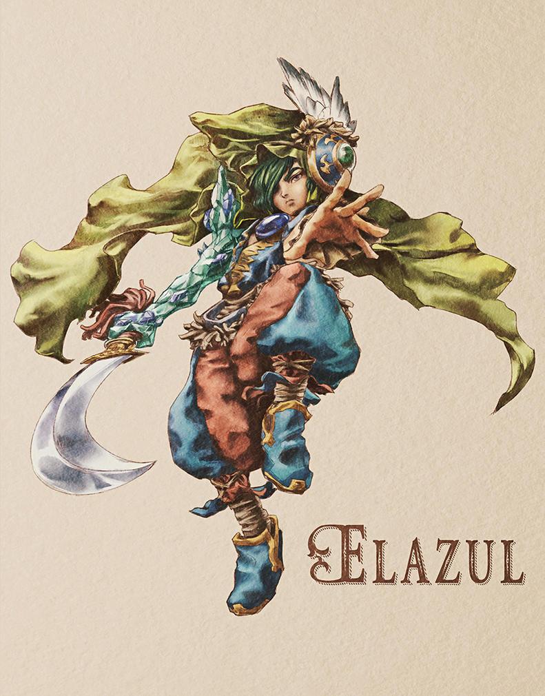 [Legend of Mana] Elazul - Colored by PaolaTuazon