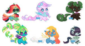 My Little Pony Adopts: 3/6 OPEN