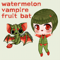 Vampire Fruit Bat Adopt AUCTION OPEN
