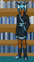 [ M - 004] Scenery Challenge - the Library by ficklegoddess