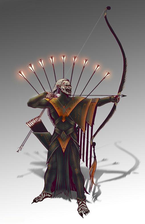 Discord Archer by stonewurks