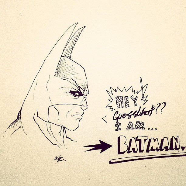 BATMAN by tweatle