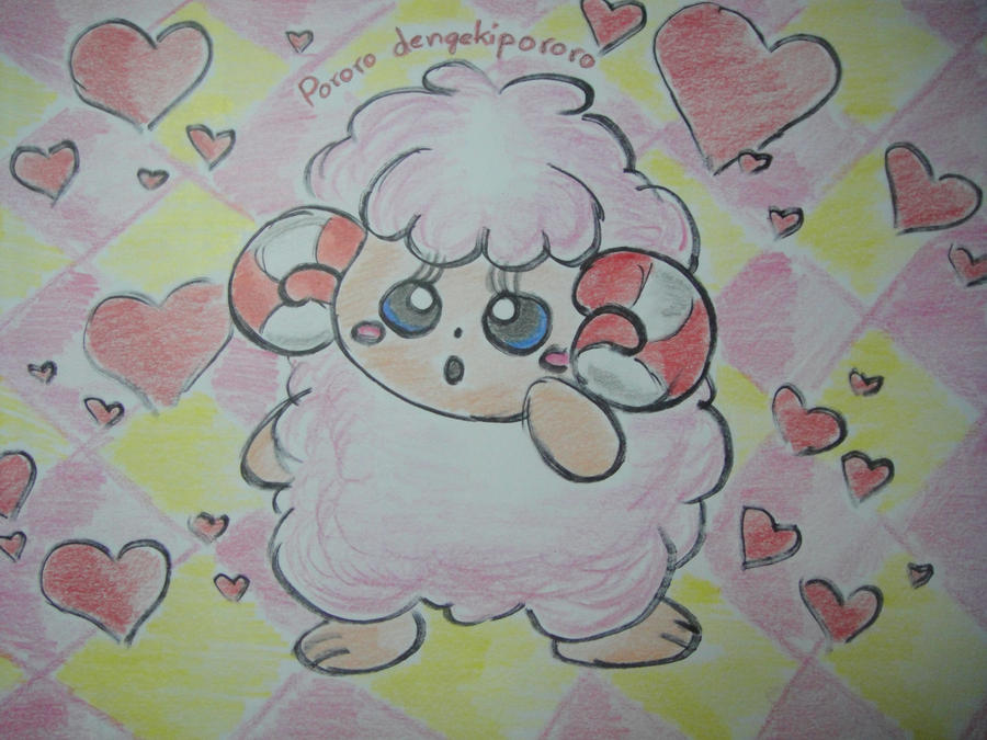 CCOC: Cotton Candy Sheep by dengekipororo
