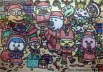 Porong Porong Christmas Party by dengekipororo