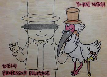 Professor Plumage by dengekipororo