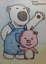 Poby and Loopy by dengekipororo