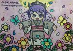 Princess Damona and the flowers by dengekipororo