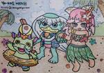 YW: Summer Time by dengekipororo