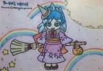 Witchy Blizzaria by dengekipororo