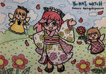 YW: Fairy of the Camellia Flower by dengekipororo