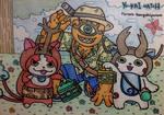 YW: Summer Bug Catching by dengekipororo