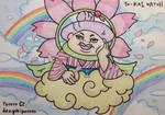 Sakura Auntie Heart by dengekipororo
