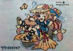 YSH: The invader summer girl by dengekipororo
