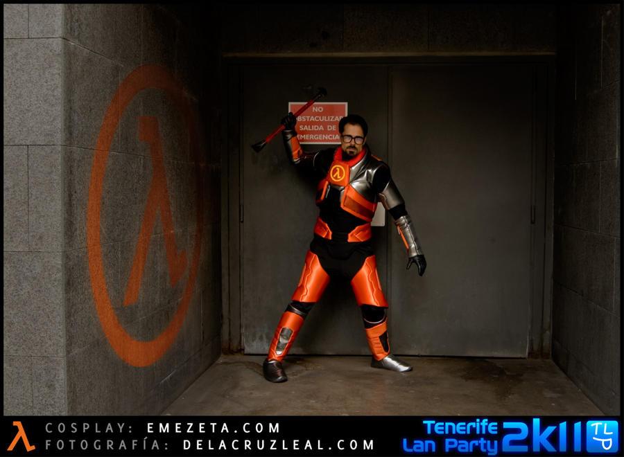Gordon Freeman Cosplay - Exit Door by JoseRomanHdez ... & Gordon Freeman Cosplay - Exit Door by JoseRomanHdez on DeviantArt