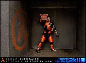 Gordon Freeman Cosplay - Exit Door