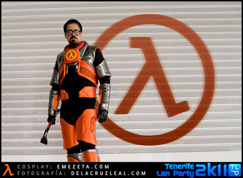 Gordon Freeman Cosplay - Halflife