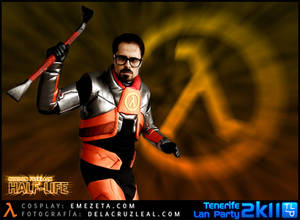 Gordon Freeman Cosplay - Xen