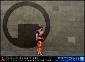 Gordon Freeman Cosplay - Black Mesa