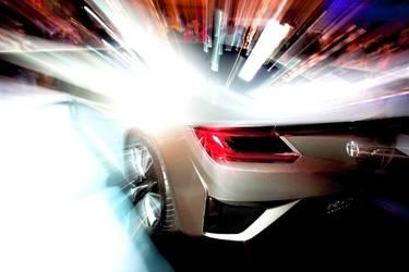 Acura NSX back