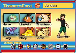 Jordan's Trainer Card by Aeroire