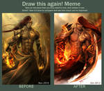 Draw this again: Fire Enchanter