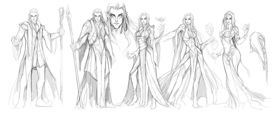 Character Concept Art From Initial Sketch To Final Design : Images about nice sketches on pinterest