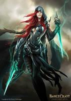 Battlecraft - Qabal | Arya of the Sands by engkit