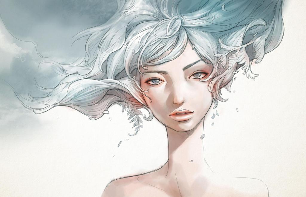 Flower Girl by engkit