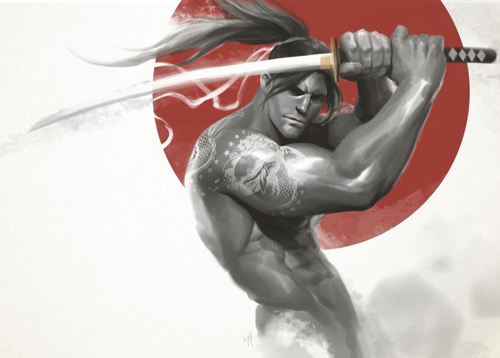 Samurai by engkit
