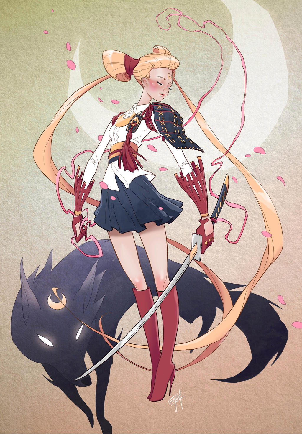 Anime Character Design Challenge : Character design challenge sailormoon by engkit on deviantart