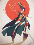 Character Design Challenge: Onna-bugeisha