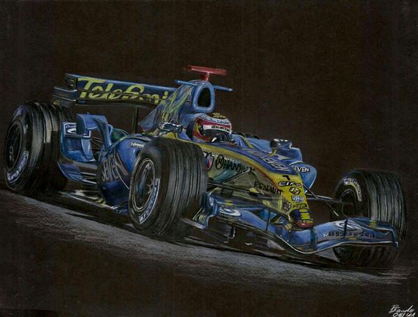 Fernando Alonso Renault by SpecialNightStar
