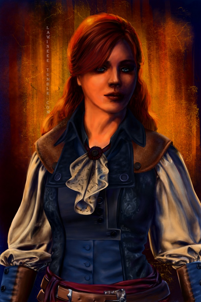 Assassin S Creed Unity Elise Portrait By The Frozen Bunny On