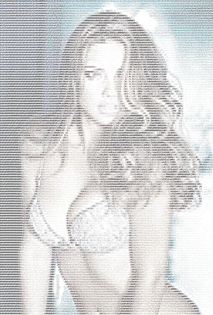 Adriana Lima fantasy bra ASCII by magXlander