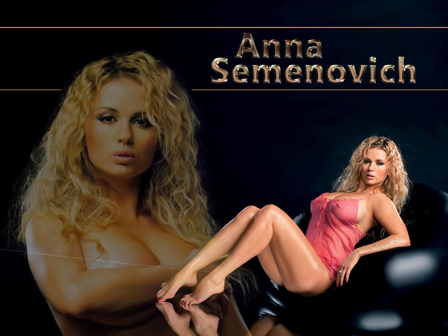 Anna Semenovich black2 by magXlander
