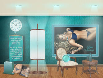 turquoise feeling by the light by magXlander