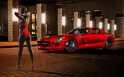 Gemma Red Benz by magXlander