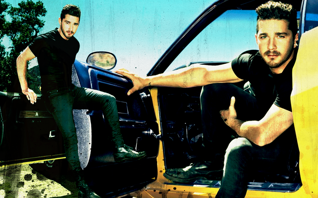 Shia LaBeouf Car Wallpaper By Suicidebyinsecticide