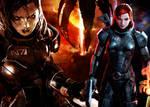 ME3: Jane Shepard versus The Reapers