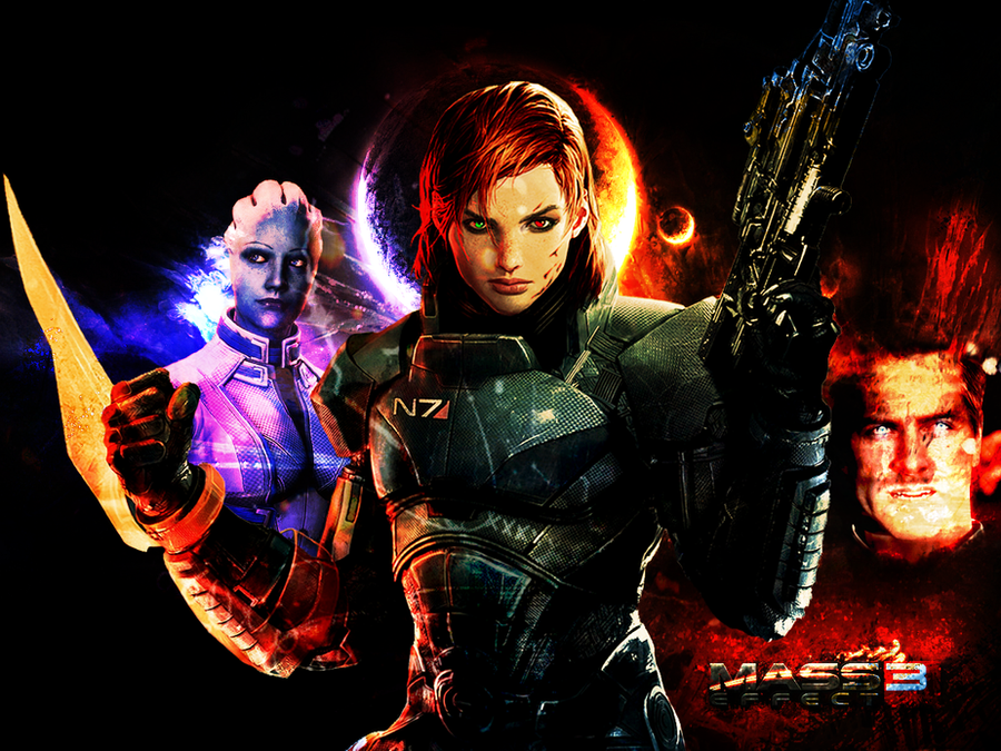 Mass Effect: Paragon vs Renegade (Without Words) by suicidebyinsecticide