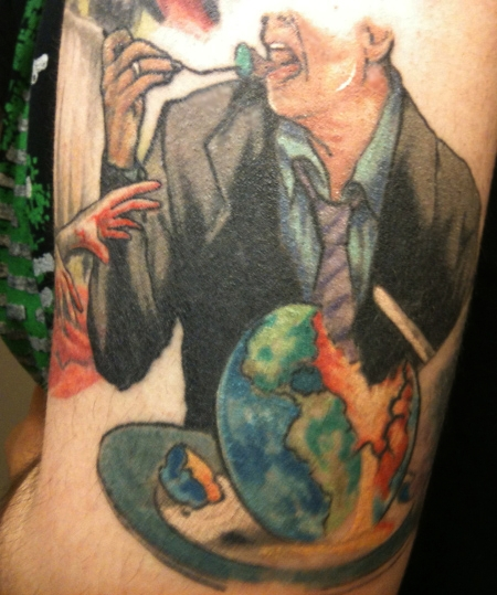 Tattoo Six: Greed by suicidebyinsecticide