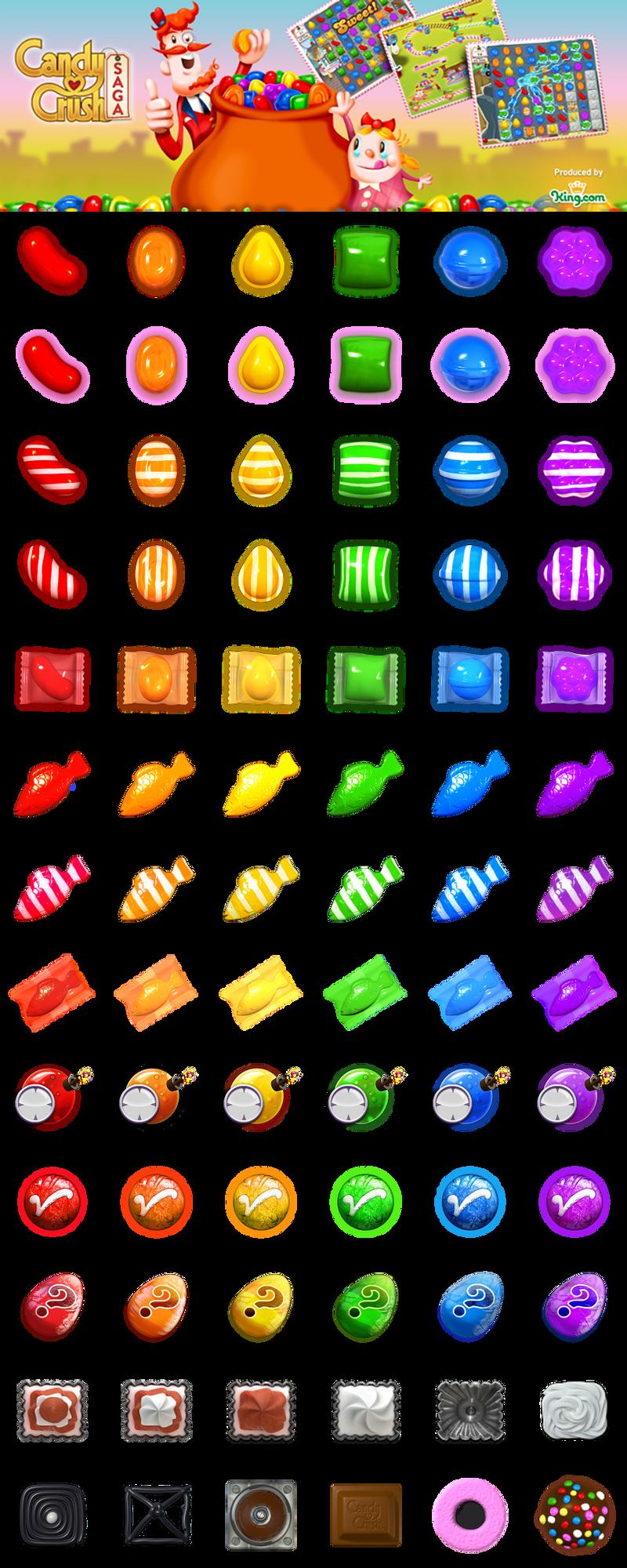 Candy crush saga p by mcsdr salem on deviantart for Candy crush fish